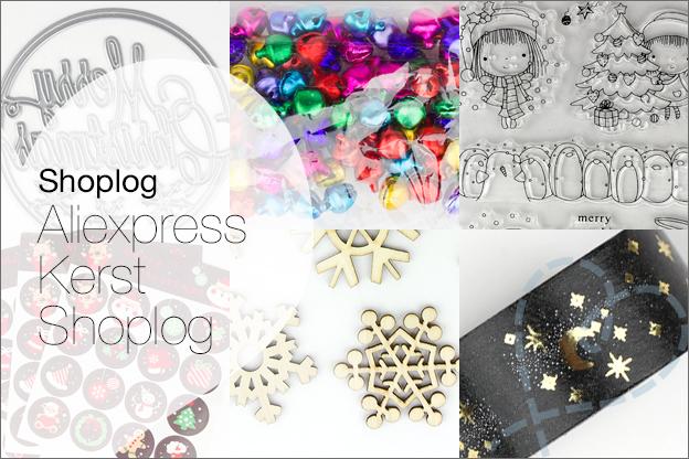 shoplog Aliexpress kerst 2018