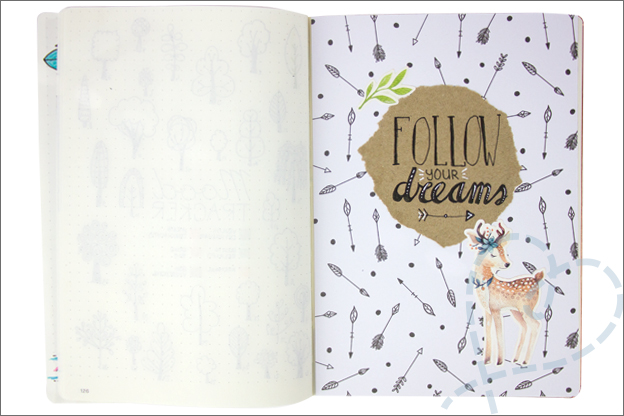 Bullet journal herfst quote follow your dreams