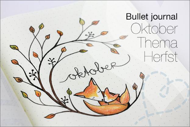 Bullet journal inspiratie oktober herfst