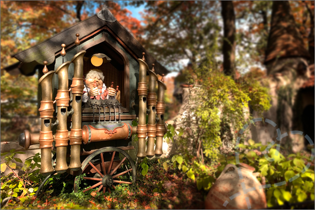 Efteling herfst land van laaf