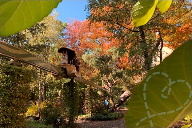 Efteling herfst land van laaf slakken