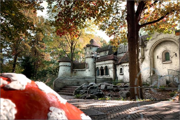 Efteling herfst sproojesbos zwavelstokjes