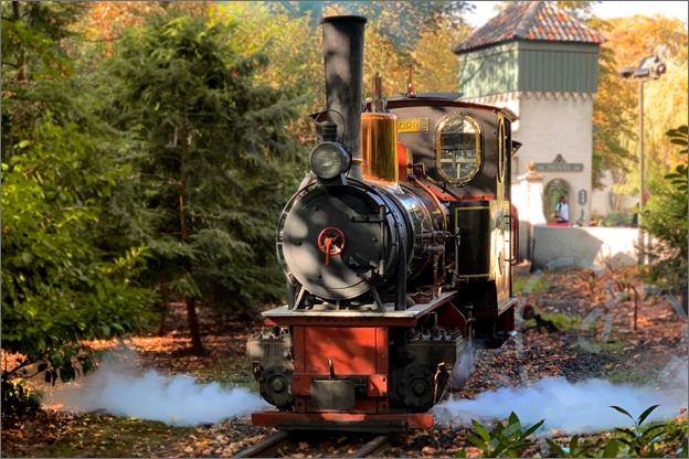Efteling herfst stoomtrein