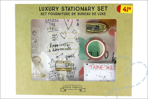 Kruidvat diana leeflang Luxury stationary set