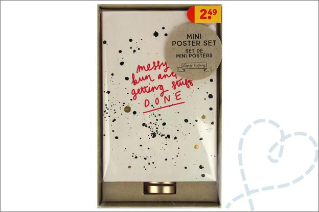 Kruidvat diana leeflang mini poster set