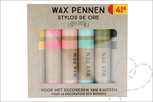Verpakking Wax pennen kruidvat
