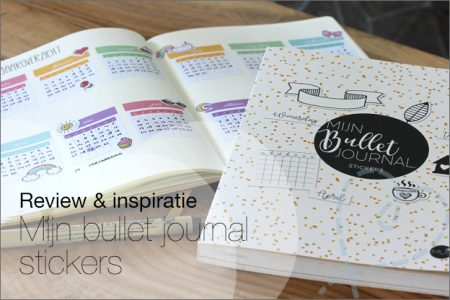 Review & Inspiratie: MUS Mijn bullet journal stickers