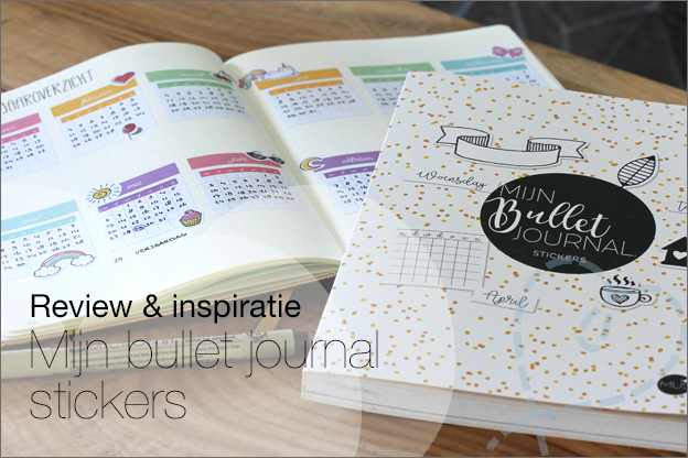 Review inspiratie MUS Mijn bullet journal Stickers