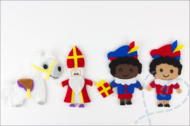 Sinterklaas krans vilt amerigo pietjes sint