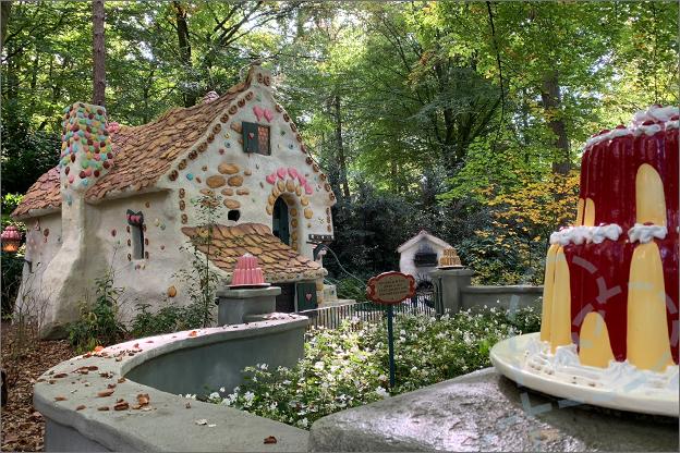 Efteling in de herfst sprookjesbos