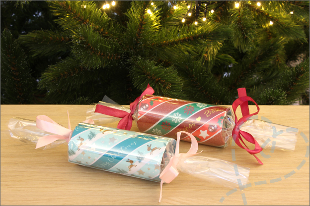 Action kerst DIY Christmas crackers