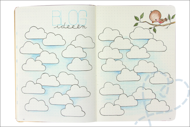 Bullet journal 2019 blog ideeen