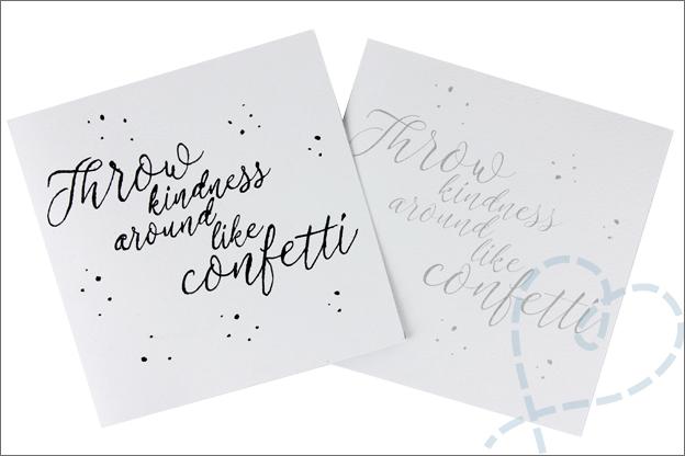 MUS kalligrafie set kaarten maken