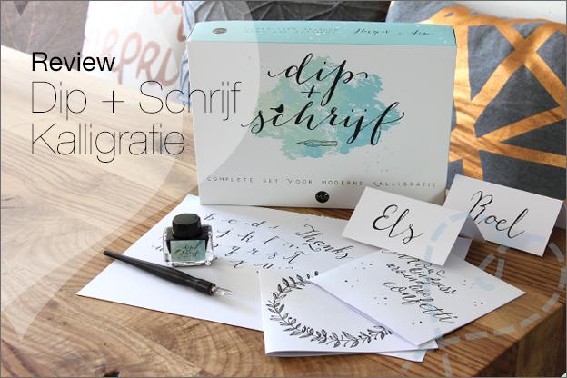 Review MUS Dip schrijf kalligrafie set