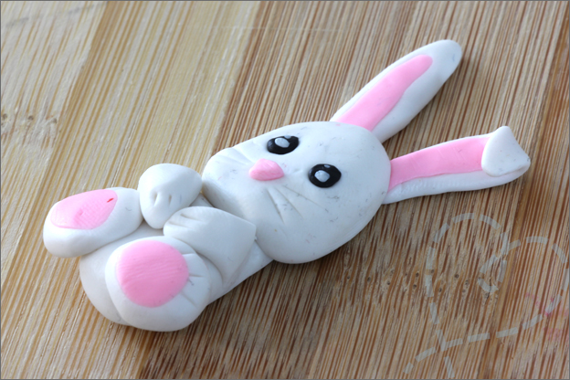 Action kleien moeilijk konijn
