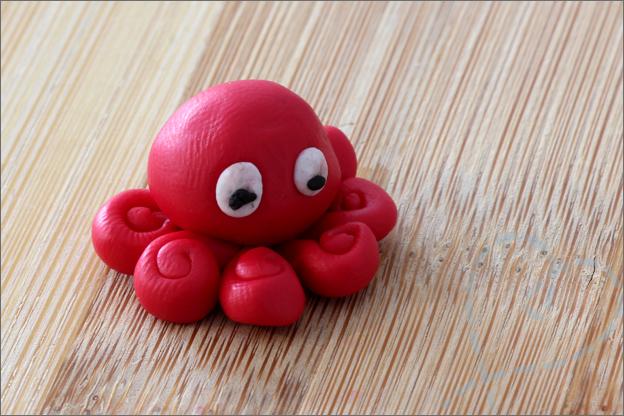 Action kleien octopus oefenen beginner