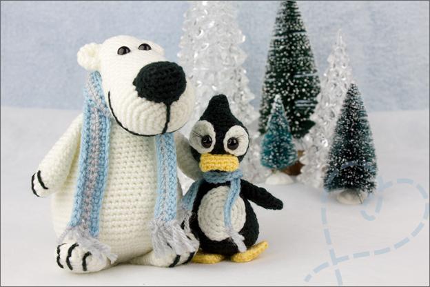 Haken Harold IJsbeer Evi Pinguin