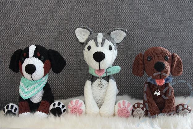 Haken Hond Siberische Husky Rosie Nobody Else
