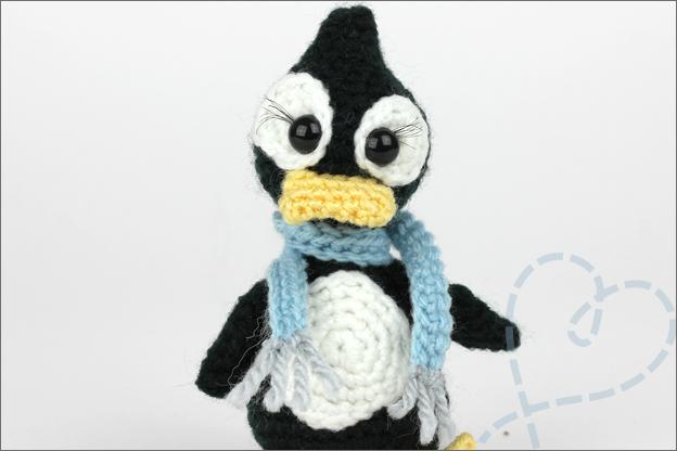 Haken piguin extra sjaal