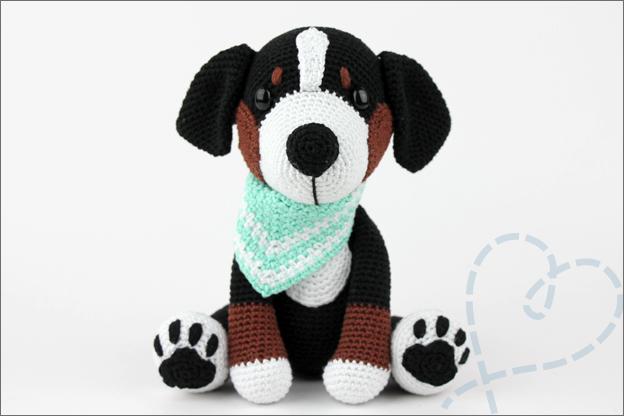 mijn hondjes van sokkenwol berner sennen Balou