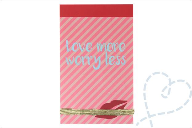 DIY Valentijn Action stickerboekje