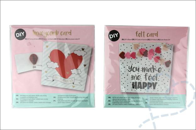 DIY Valentijnsdag Action valentijnskaarten