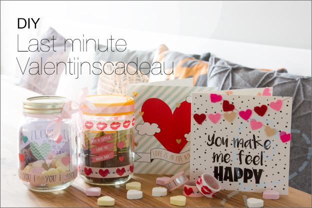 DIY Valentijnsdag Last minute action makkelijk