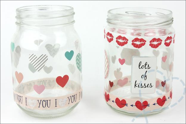 DIY Valentijnsdag cadeautjes_stickers washi tape Action