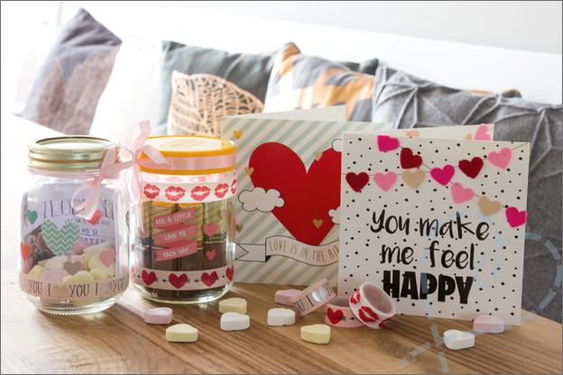 DIY Valentijnsdag eindresultaat
