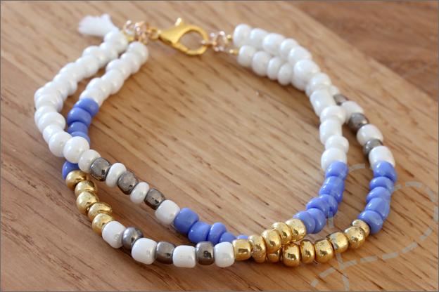 Sieraden maken zomerse armbanden DIY tutorial