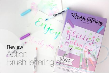 Review: Action starter set, complete brush lettering set