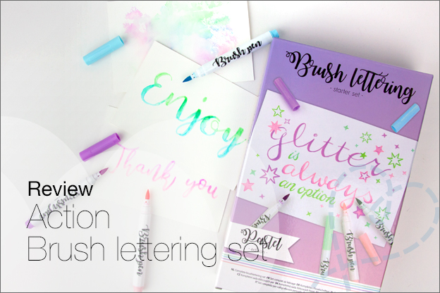Action Brush lettering starter set review ervaring