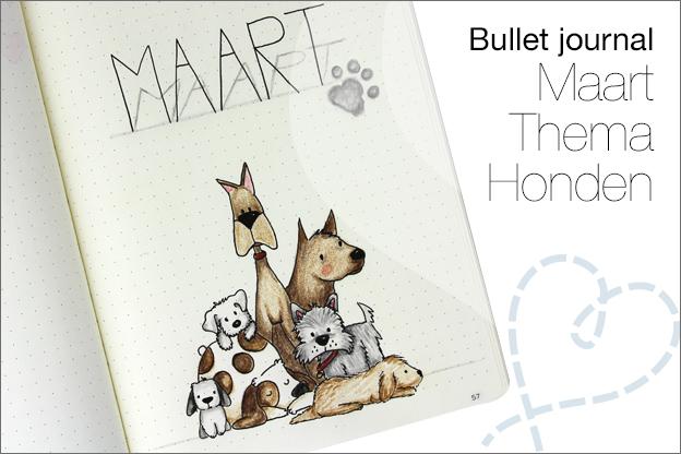 Bullet jounal maart thema honden