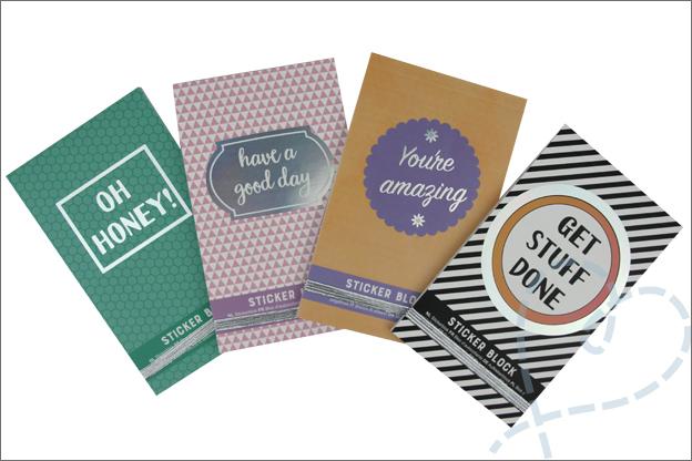 Action stickerboekjes diverse designs