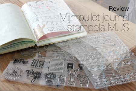 Review: Mijn bullet journal stempels, MUS