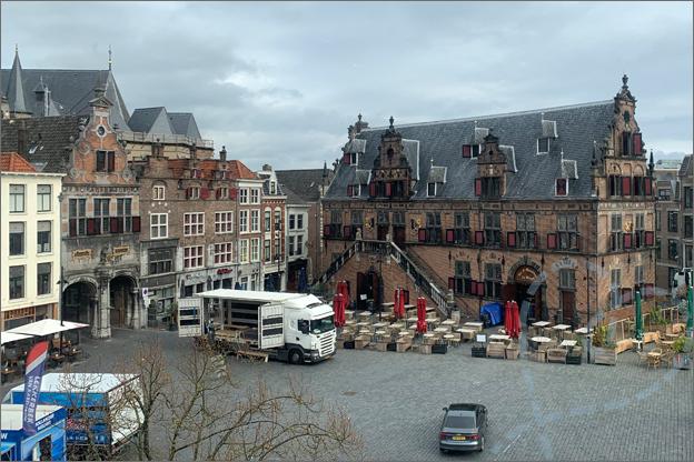 Vakantie CenterParcs Heijerbos bezoek nijmegen grote markt
