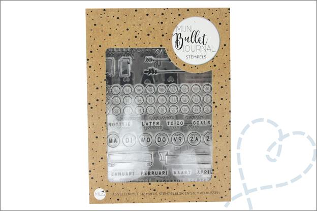 review mus bullet journal stempels verpakking