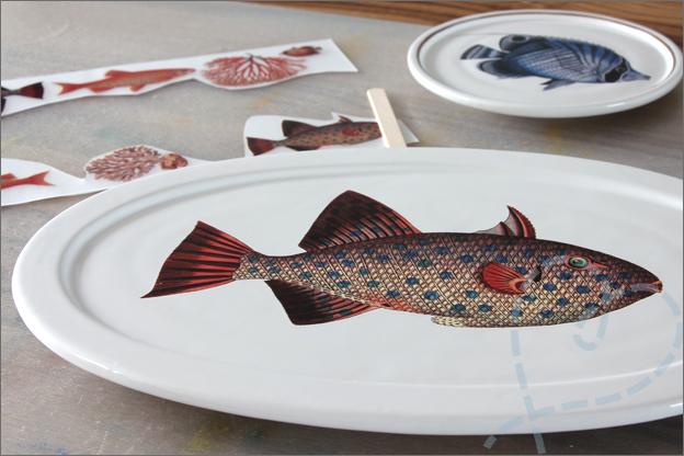 HEMA wandbord vis zelf maken
