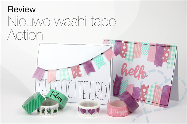 Washi tape Action review nieuw design