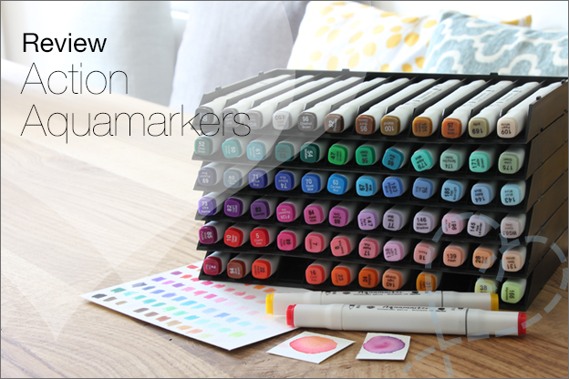 Action Decotime Aquamarkers review twinmarkers
