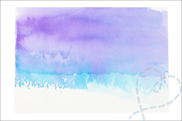 Kaarten maken achtergrond aquarel Aquamarkers decotime