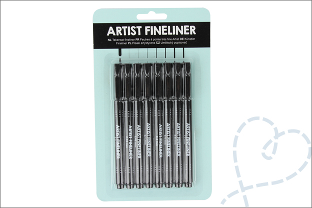 Review Action Artist fineliners