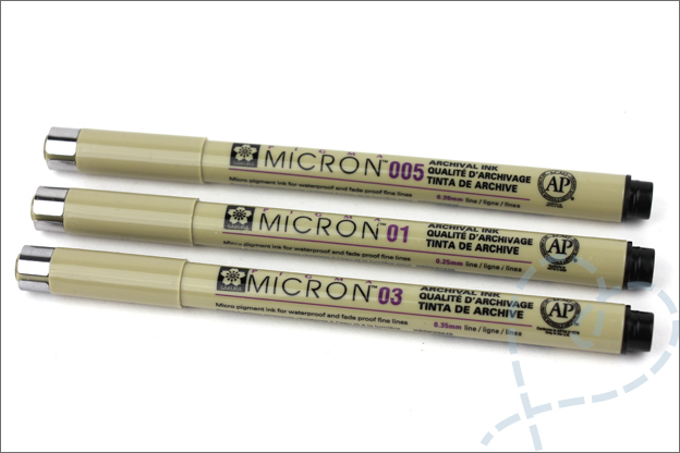 Review Pigma Micron fineliners