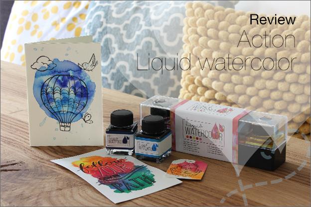 Action Liquid watercolor review ecoline