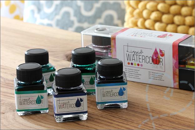 Action review liquid watercolor verpakking