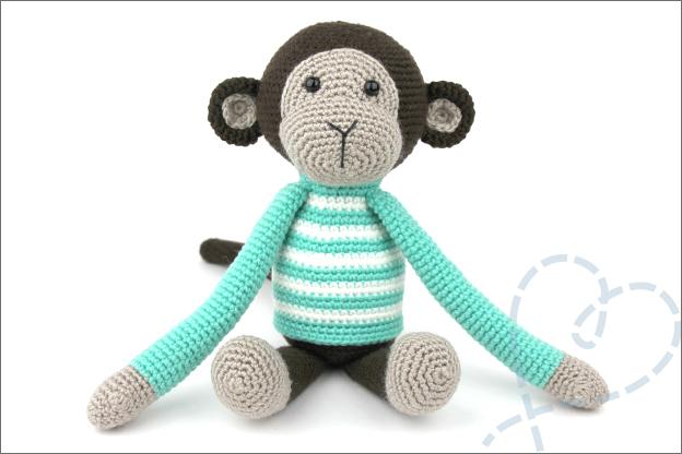 Haken aapje ankie in elkaar zetten