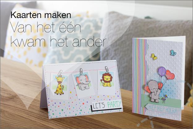 Kaarten maken brushpen clear stamps