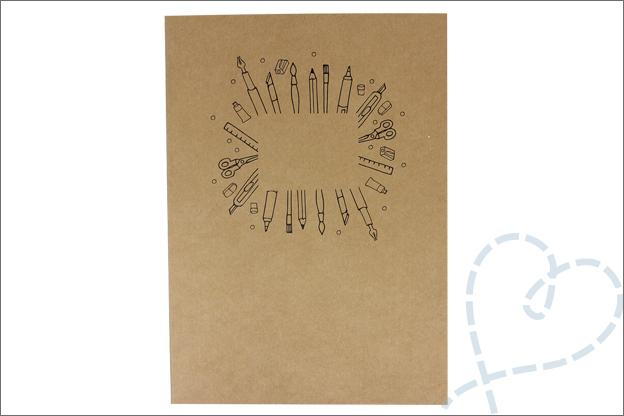 Shoplog Action papierblok knutselen