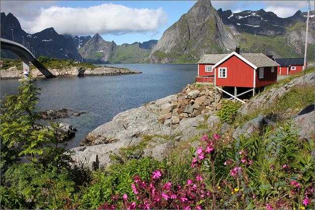 Vakantie verslag Noorwegen hamnoy