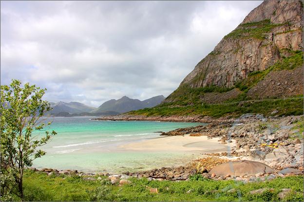 Vakantie verslag Noorwegen lofoten strand